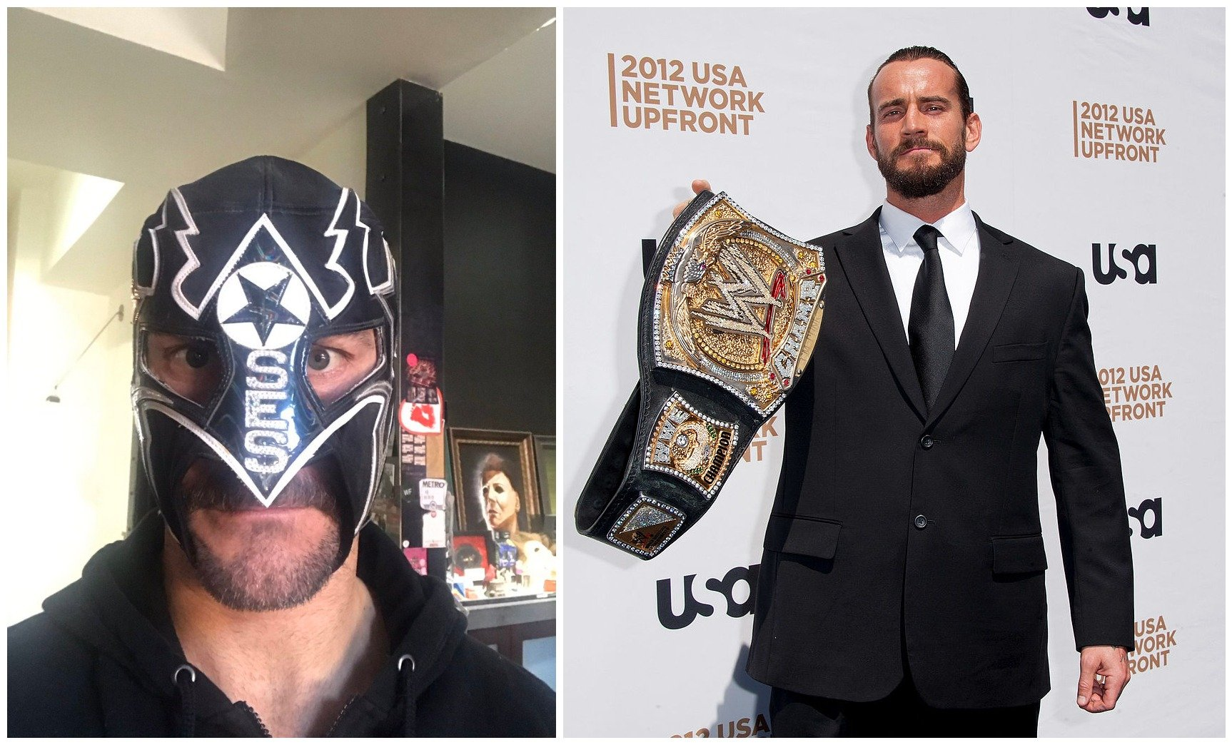 Image Credits: Twitter/CM Punk - Getty Images