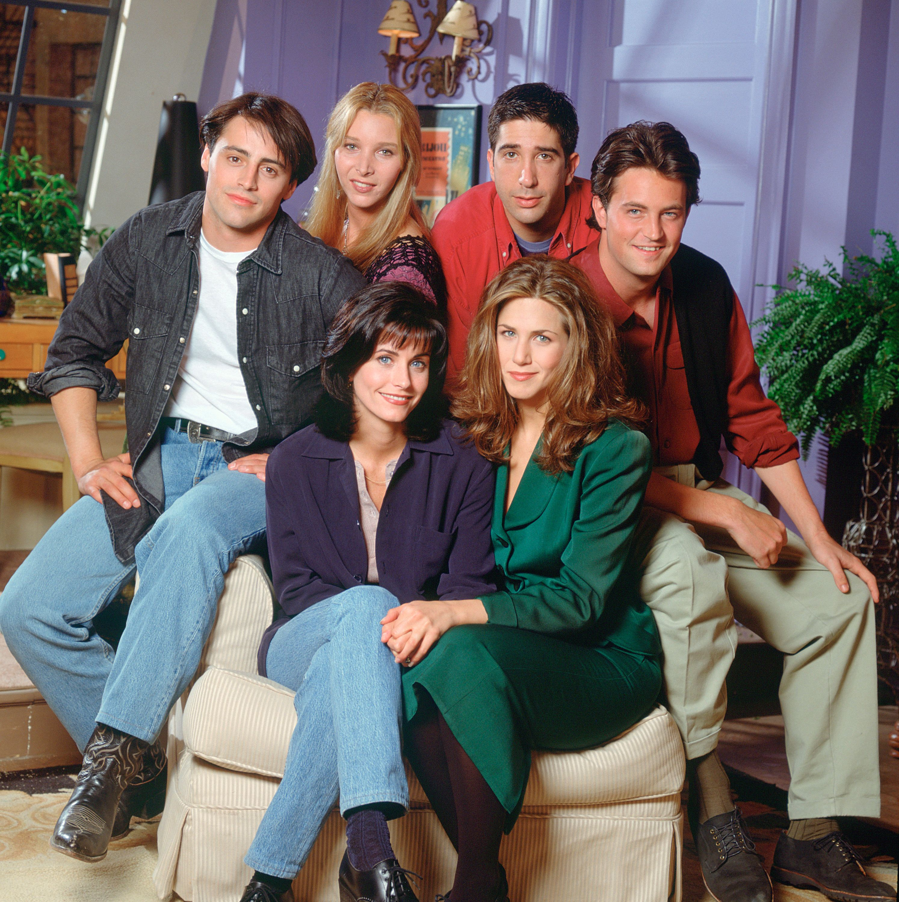 Friends had a reunion but it was somewhat awkward / Getty Images