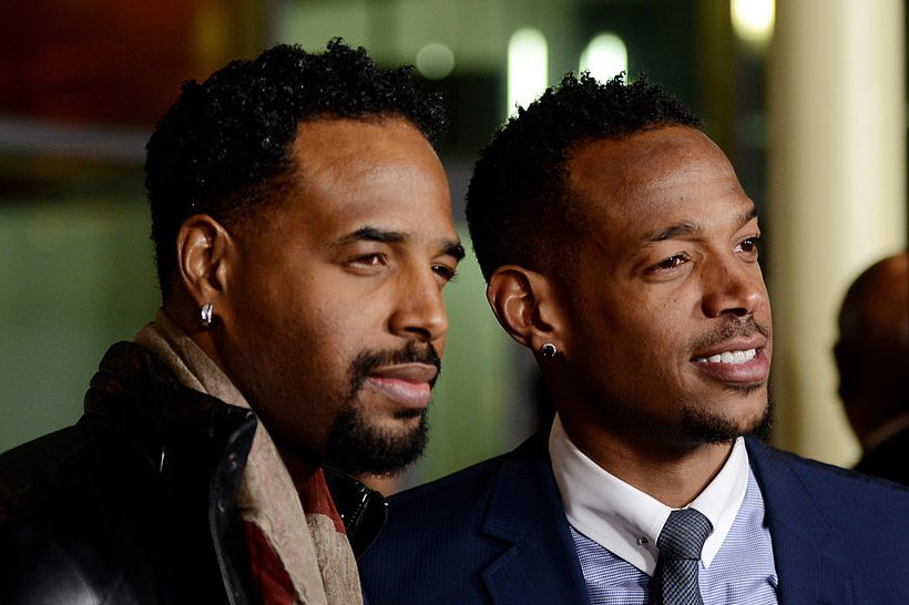 "Image Credits: Getty Images / Kevin Winter | Actor Shawn Wayans (L) and co-writer/producer/actor Marlon Wayans arrive at the premiere of Open Road Films' ""A Haunted House"" at the Arclight Theatre on January 3, 2013 in Los Angeles, California."
