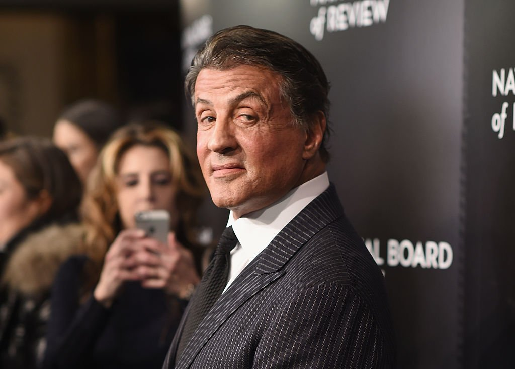 Image Source: Getty Images/Dimitrios Kambouris | Stallone at the 2015 National Board of Review Gala