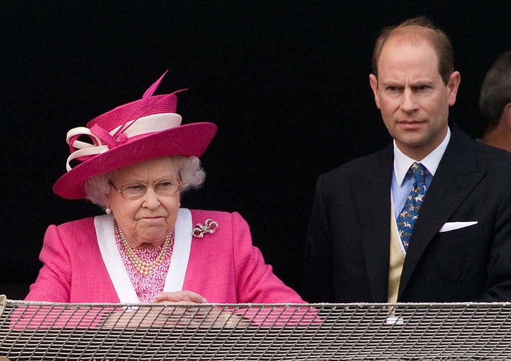 Image Credit: Getty Images / Queen Elizabeth II and Prince Edward, Earl of Wessex react after watching the 2011 Epsom Derby arrives at Epsom racecourse on June 4, 2011 in Epsom, England.