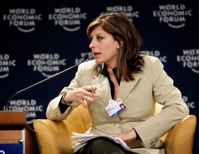 Maria Bartiromo Image Source: Wikimedia Commons.