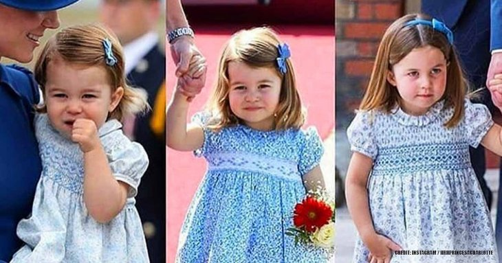 7 Reasons Why Princess Charlotte Always Wears Very Similar Dresses