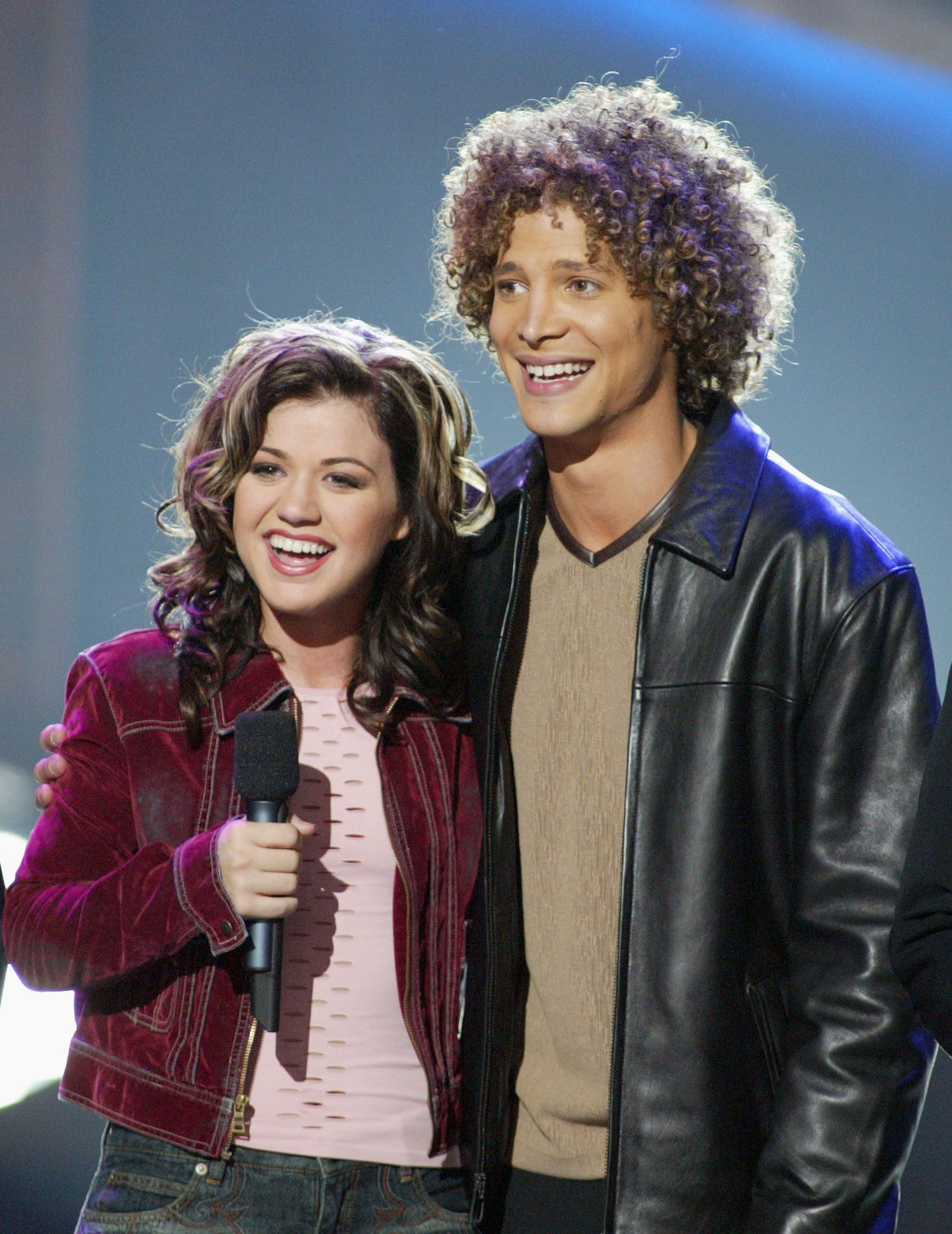 Kelly Clarkson and Justin Guarini did have a fling / Getty Images