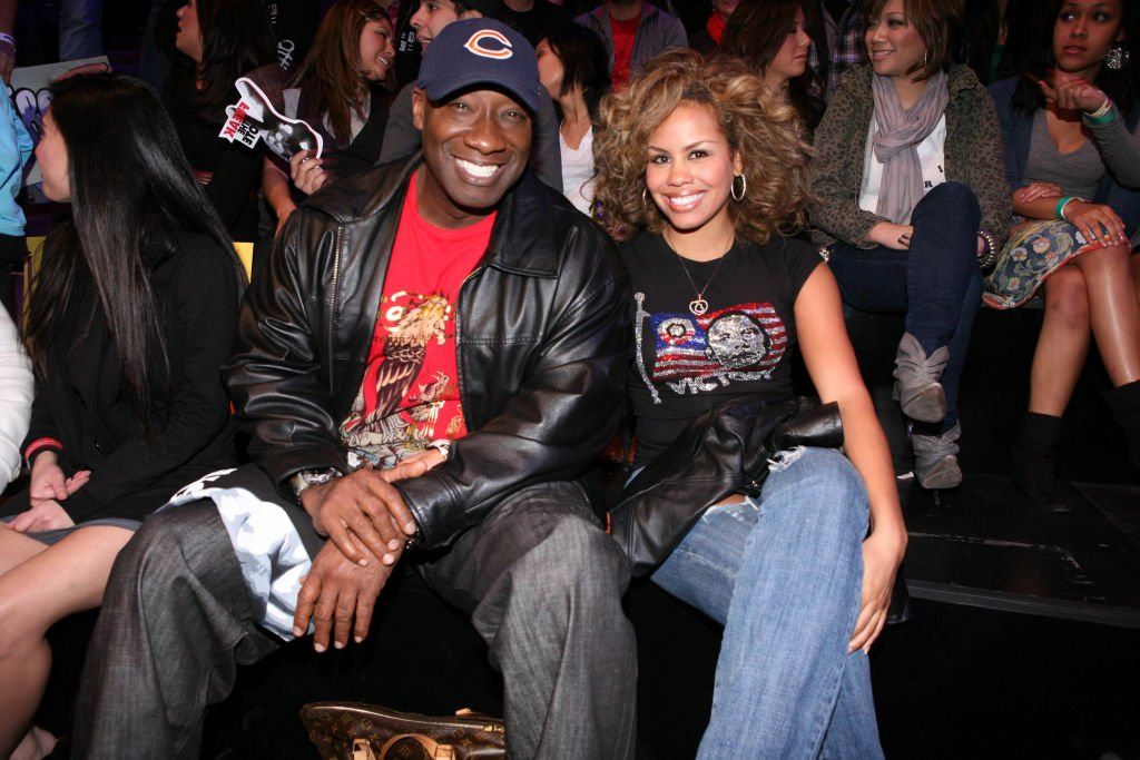 "Image Credit: Getty Images / Michael Clarke Duncan and guest in the audience during the taping of Randy Jackson Presents ""America's Best Dance Crew"" Season 3 in Burbank, CA on February 17, 2009."