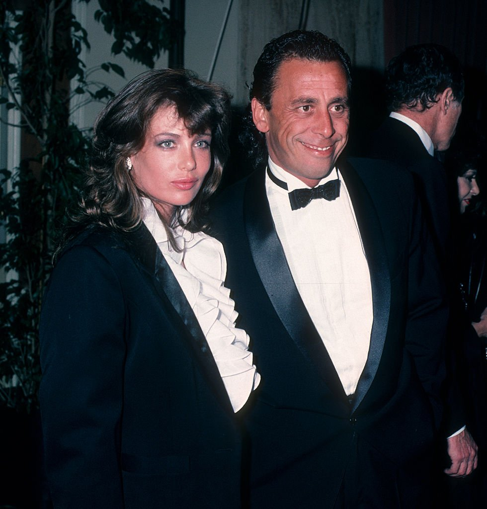 Image Credits: Getty Images / Ron Galella, Ltd. / Ron Galella Collection | Actress Kelly LeBrock and husband Victor Drai attending 13th Annual American Film Institute Lifetime Achievement Awards Honoring Gene Kelly on March 7, 1985 at the Beverly Hilton Hotel in Beverly Hills, California.