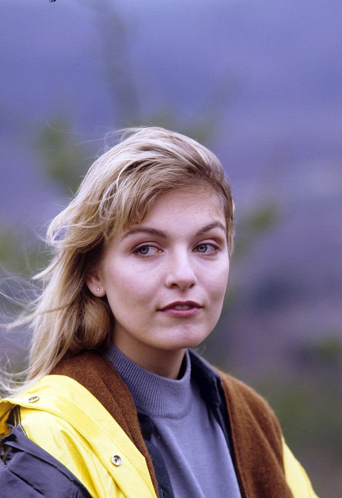 "Image Credits: Getty Images / Walt Disney Television | Sheryl Lee in Twin Peak's pilot, ""Northwest Passage""."
