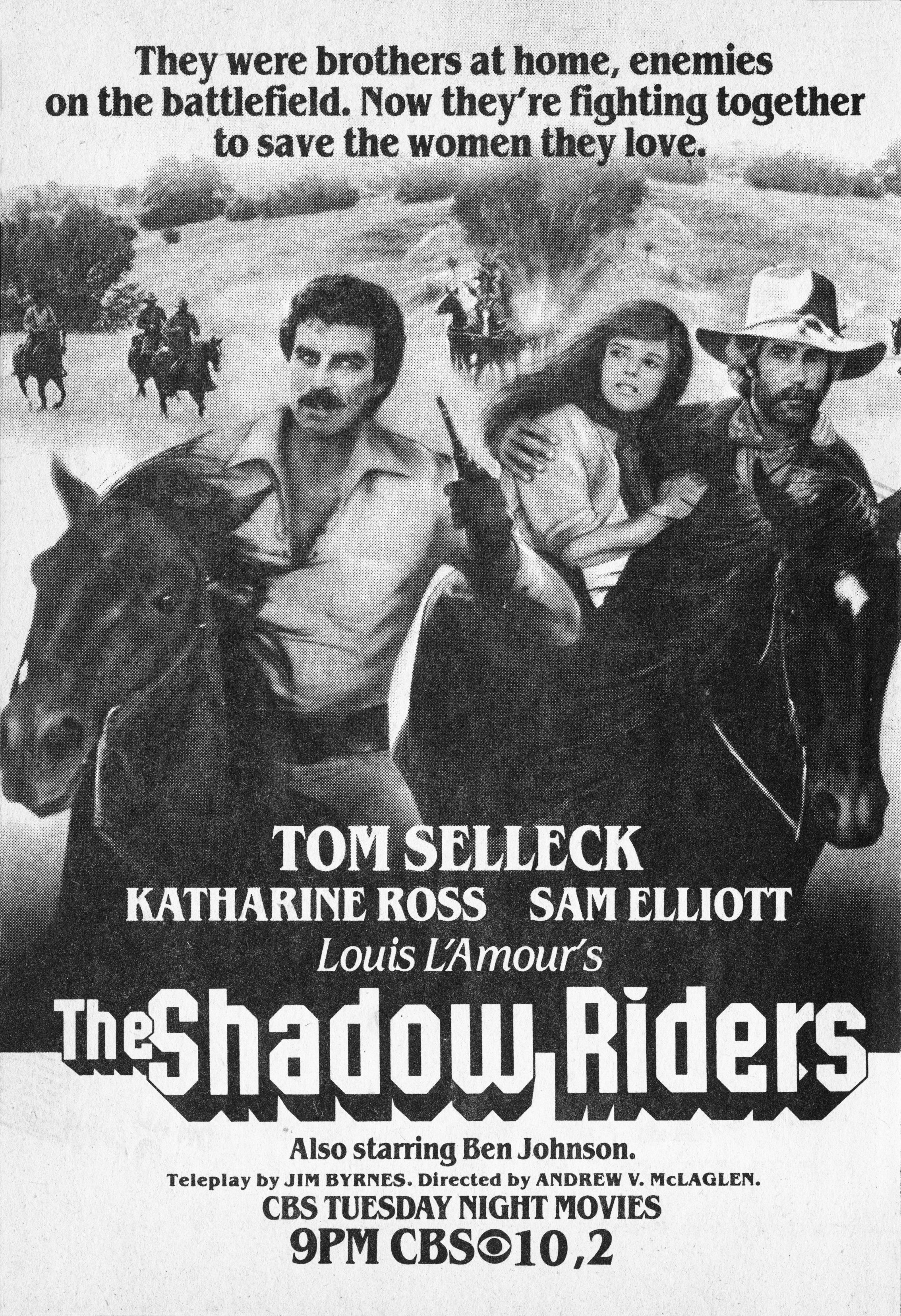 Image Credits: Getty Images | 'The Shadow Riders' film poster
