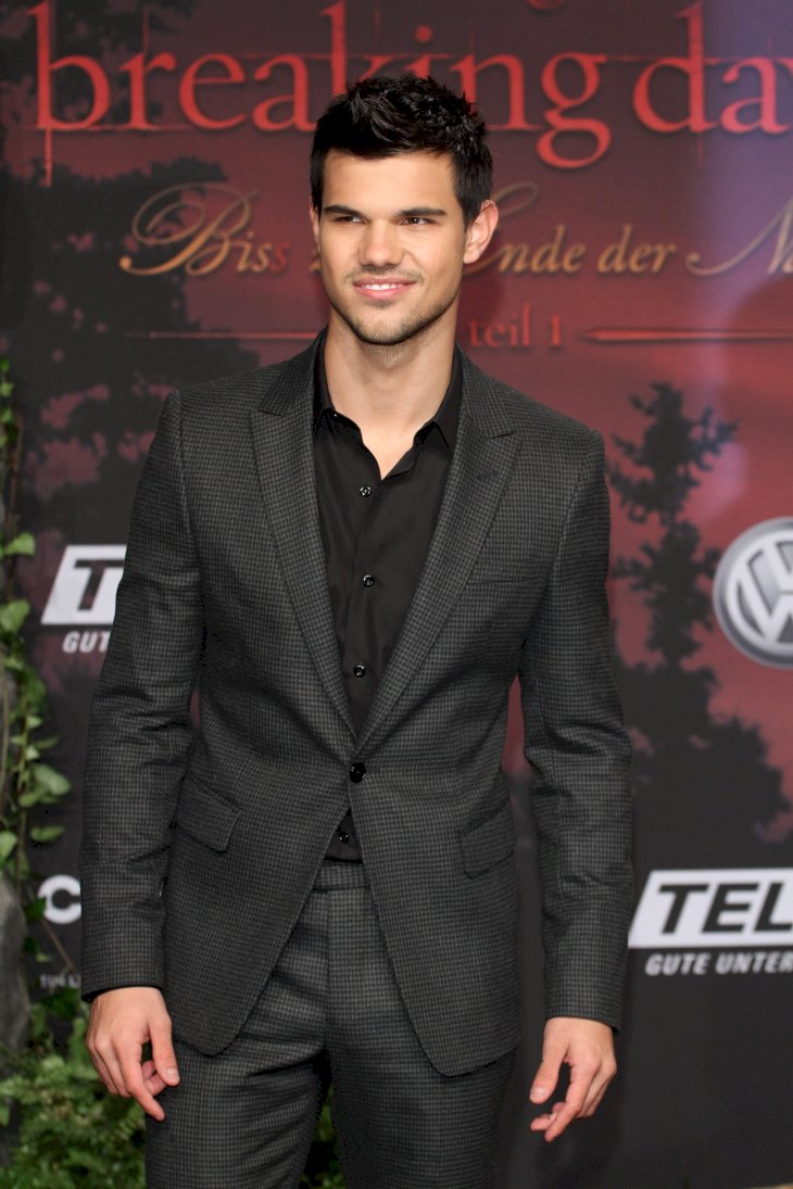 Image Credit: Shutterstock / Taylor Lautner at the premiere of Breaking Dawn.