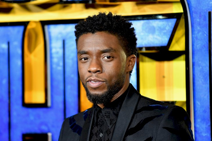 "Image Credits: Getty Images / Gareth Cattermole | Chadwick Boseman attends the European Premiere of Marvel Studios' ""Black Panther"" at the Eventim Apollo, Hammersmith on February 8, 2018 in London, England."