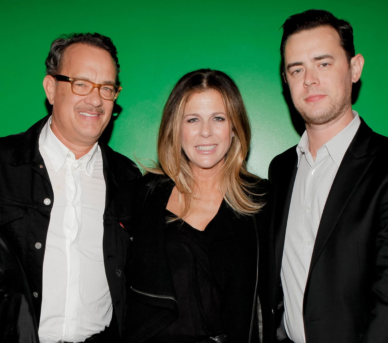Tom Hanks, Rita Wilson and Colin Hanks/Photo:Getty Images