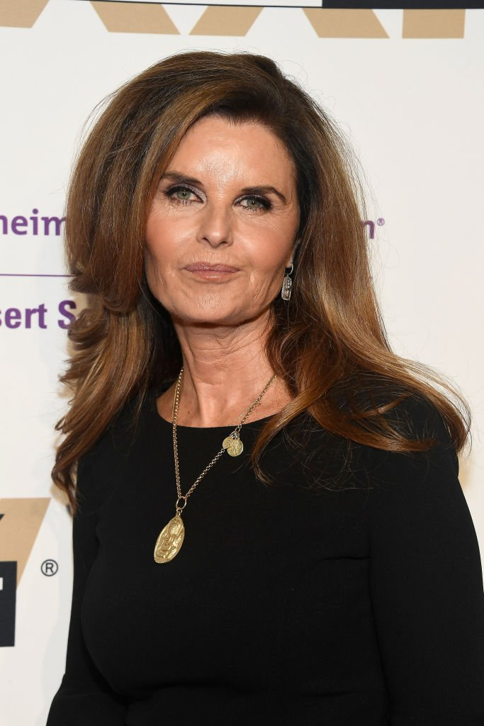 Image Credits: Getty Images / Frazer Harrison | Honoree Maria Shriver attends Celebrity Fight Night XXIV on March 10, 2018 in Phoenix, Arizona.
