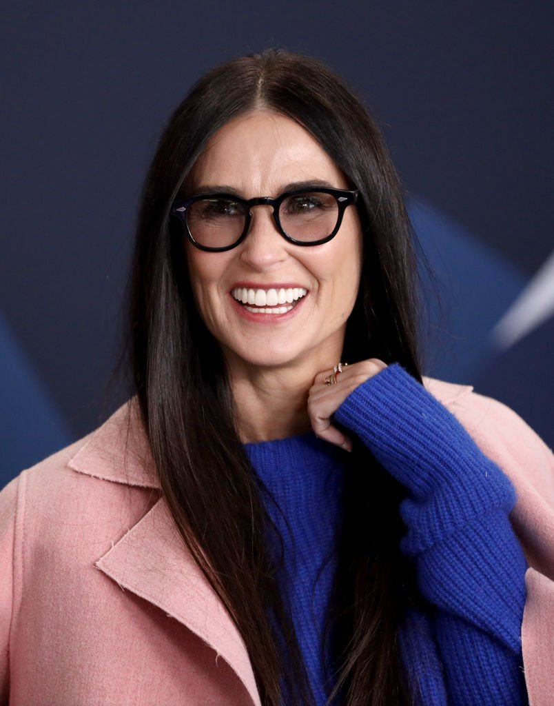 Image Credits: Getty Images / Rich Polk | Demi Moore of Corporate Animals attends The IMDb Studio at Acura Festival Village on location at The 2019 Sundance Film Festival - Day 4 on January 28, 2019 in Park City, Utah.