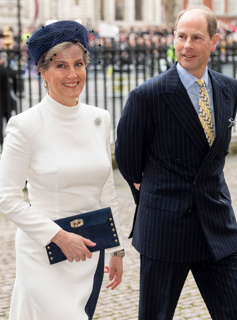 Image Source: Getty Images/Mark Cuthbert/Sophie, Countess of Wessex and Prince Edward, Earl of Wessex attend the Commonwealth Day Service 2020 at Westminster Abbey on March 9, 2020 in London, England