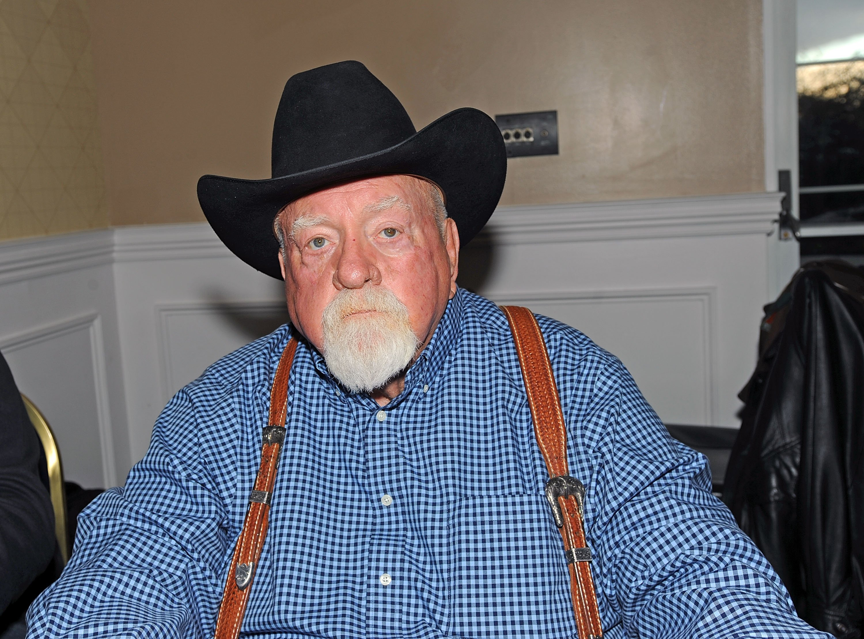 Image Source: Getty Images| A photo of Wilford Brimley