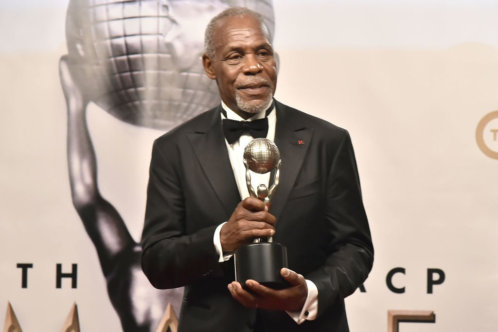 Image Source: Getty Images/David Crotty|Danny Glover attends the 49th NAACP Image Awards - Press Room at Pasadena Civic Auditorium on January 15, 2018 in Pasadena, California