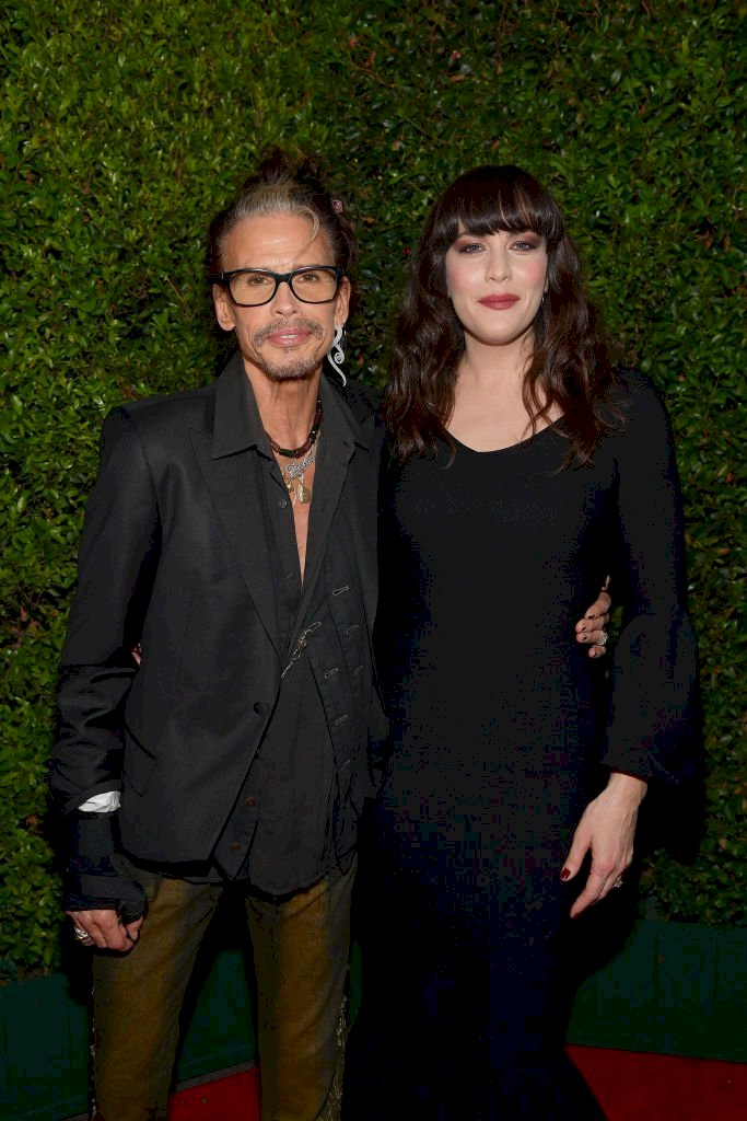 Image Credit: Getty Images / Liv Tyler and her father, Steven Tyler.