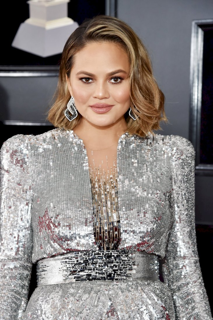 Image Credit: Getty Images / Chrissy Teigen at an event.