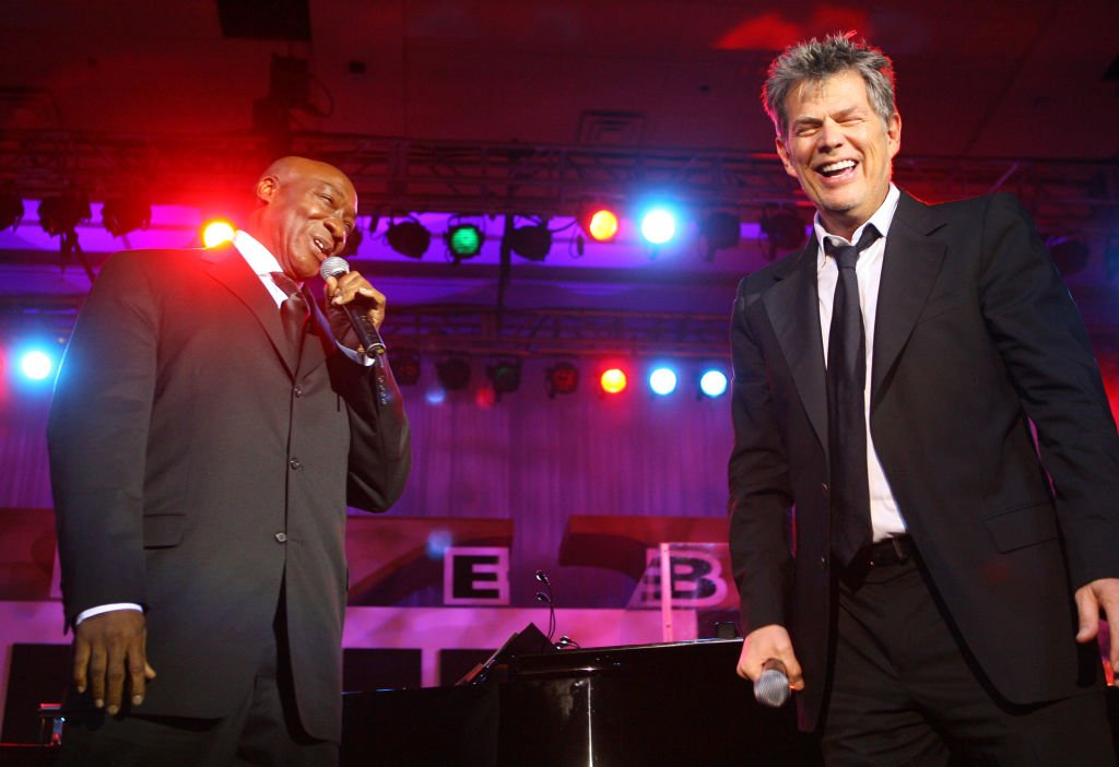 Image Credit: Getty Images / Michael Clarke Duncan and David Foster during Muhammad Ali's Celebrity Fight Night XIII - Show at Marriot Desert Ridge Resort & Spa in Phoenix, Arizona, United States.