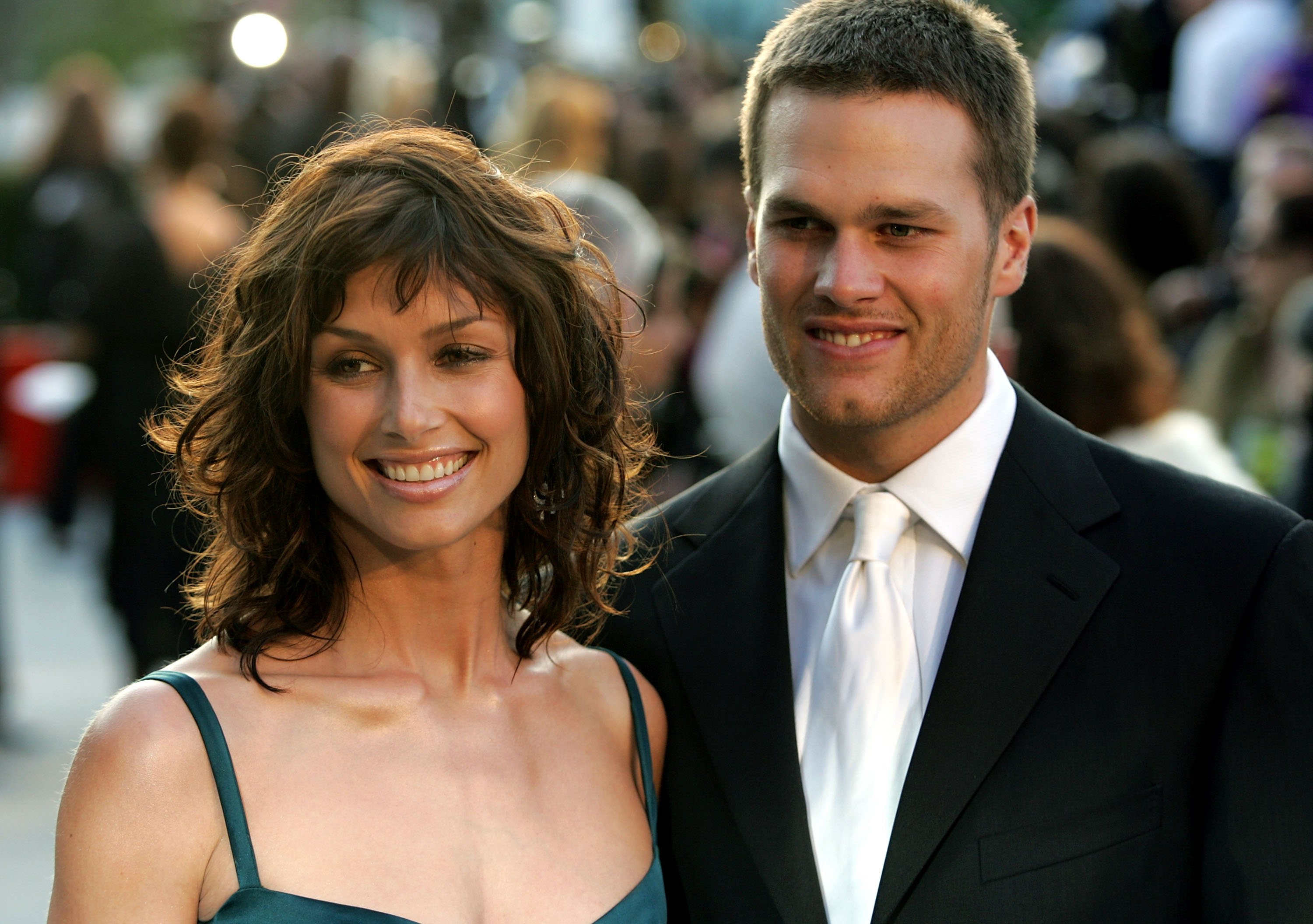 Image Credit: Getty Images/Mark Mainz | Bridget Moynahan and Tom Brady circa 2005