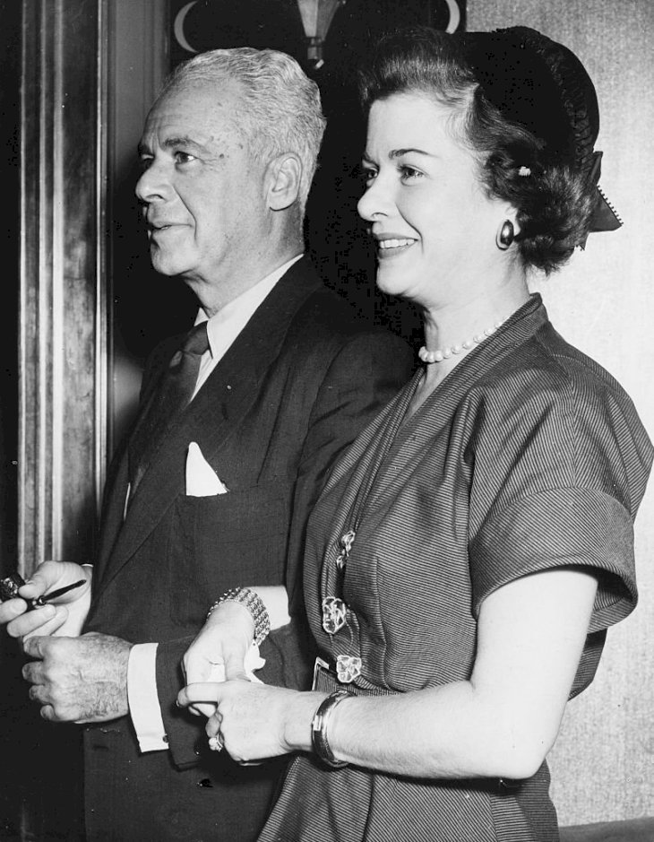 Image Credit: Getty Images/Keystone/Fred Ramage | Joan Bennett and her husband Walter Wanger