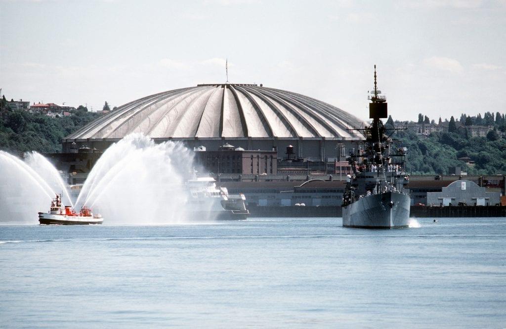 Image credits: Tiebreaker/ 1st class Harold J. Gerwien, U.S. Navy