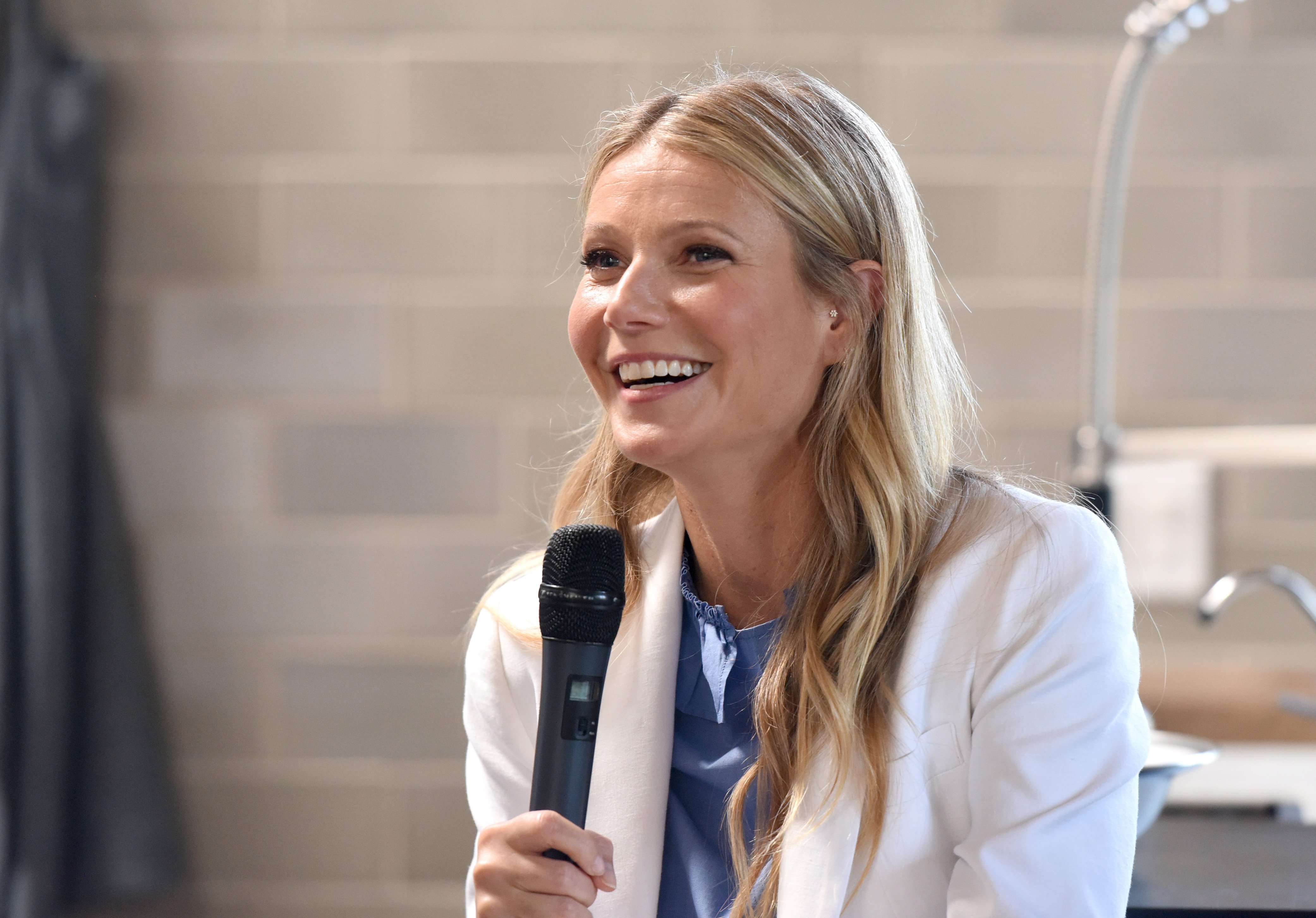 Image Credits: Getty Images / Vivien Killilea | Gwyneth Paltrow speaks at Fast Company with Gwyneth Paltrow and Goop at FC/LA: A Meeting Of The Most Creative Minds on May 16, 2017 in Santa Monica, California.