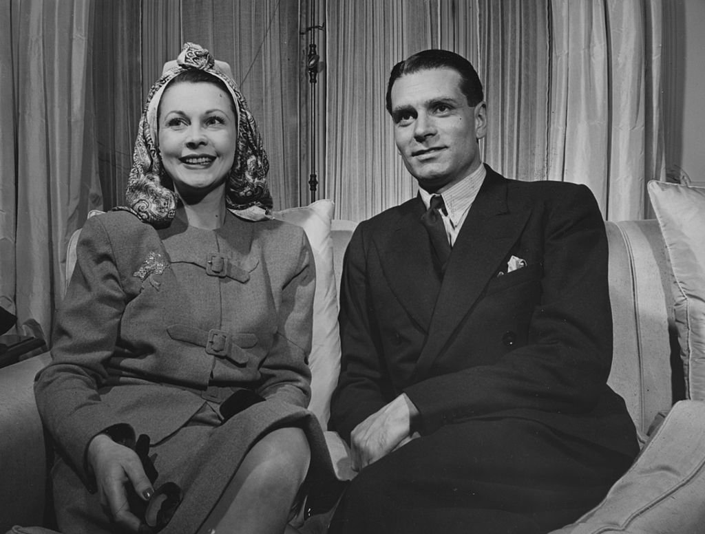Image Credits: Getty Images / FPG/Archive Photos | Leigh and Olivier in 1948