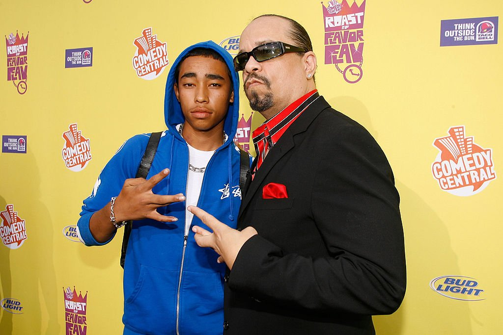 Image Credit: Getty Images / Actor and recording artist Ice-T (R) and son Tracy Marrow Jr. 'Little Ice' arrive to The Comedy Central Roast at Warner Bros. Studios on July 22, 2007 in Burbank, California.