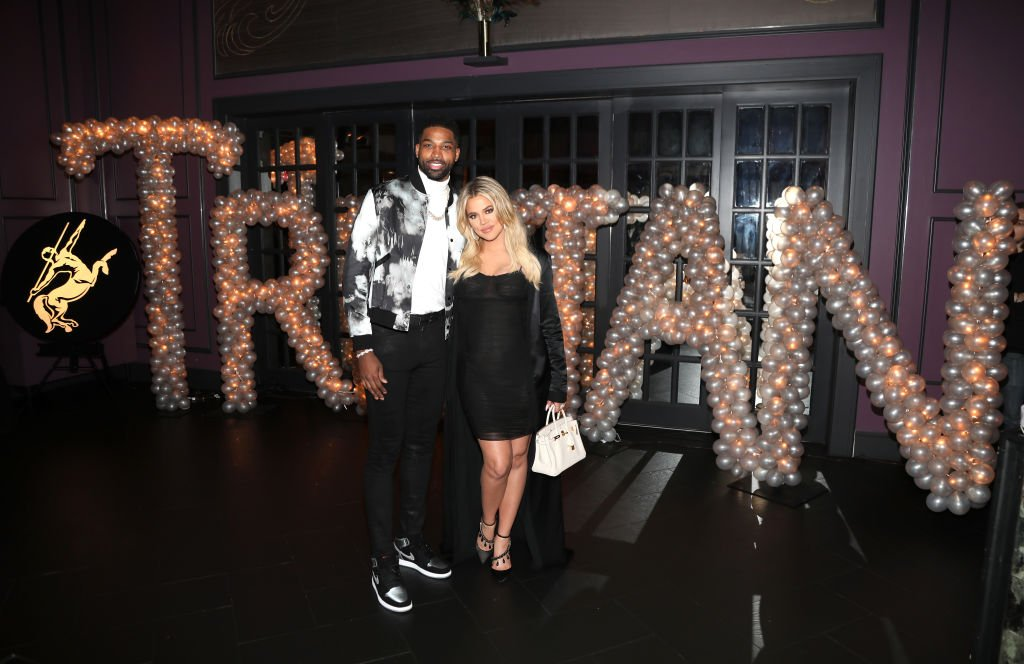 Image Credit: Getty Images / Khloe Kardashian celebrates Tristan Thompson's Birthday at Beauty & Essex on March 10, 2018 in Los Angeles, California.