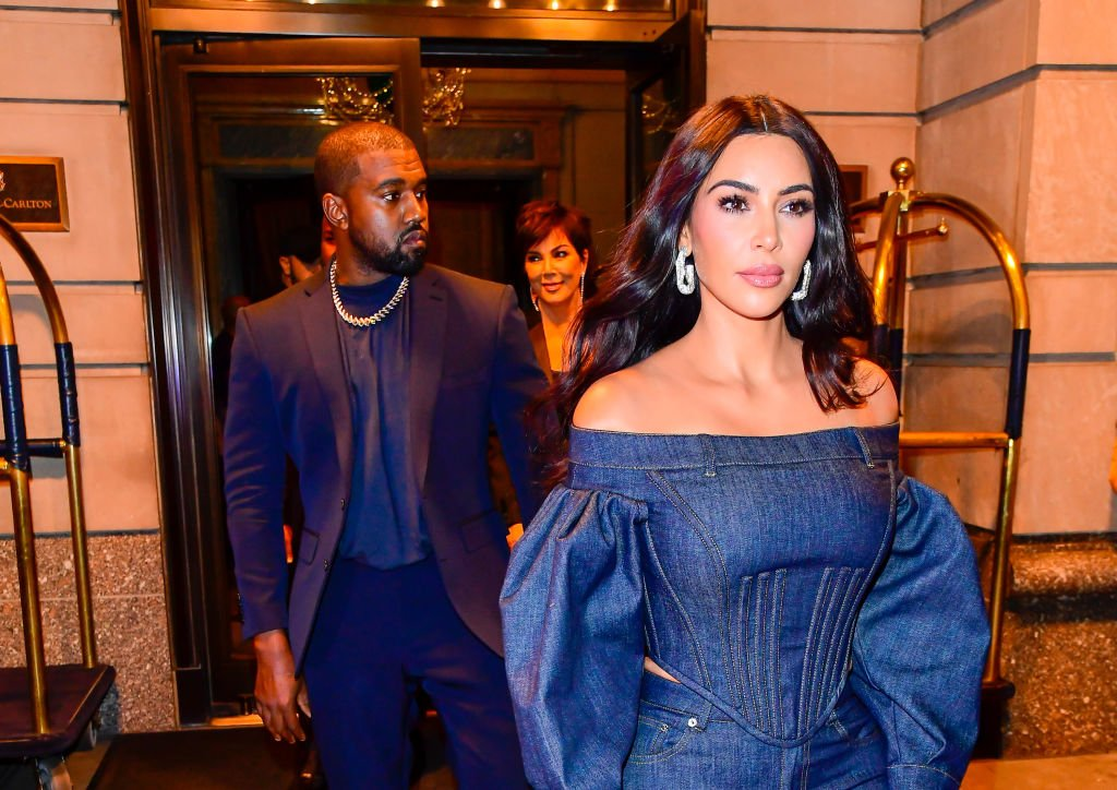Image Credit: Getty Images /  Kim Kardashian-West and Kanye West are seen out and about in Manhattan on November 6, 2019 in New York City.