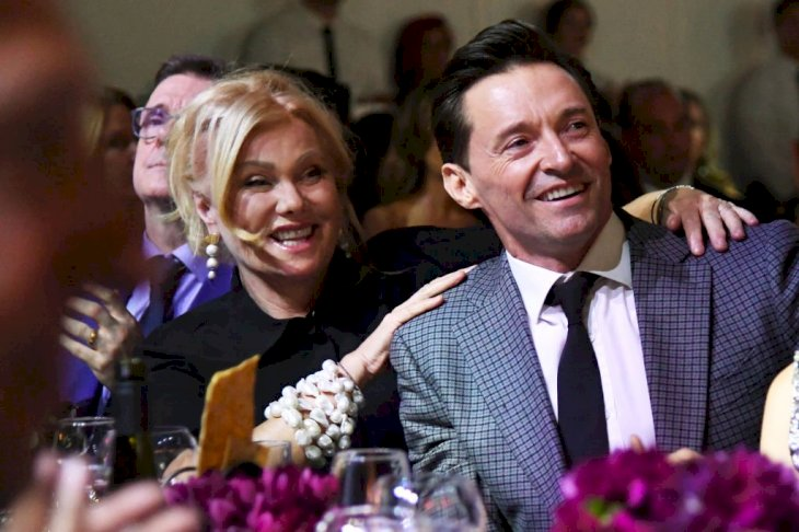 Image Credit: Getty Images / Hugh Jackman and Deborra-Lee Furness attend an event in 2018.