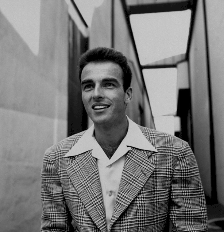 Image Credit: Getty Images/The LIFE Picture Collection via Getty Images/Peter Stackpole | Montgomery Clift standing outside sound stages at Paramount Studios during the time of filming A Place in the Sun in 1950