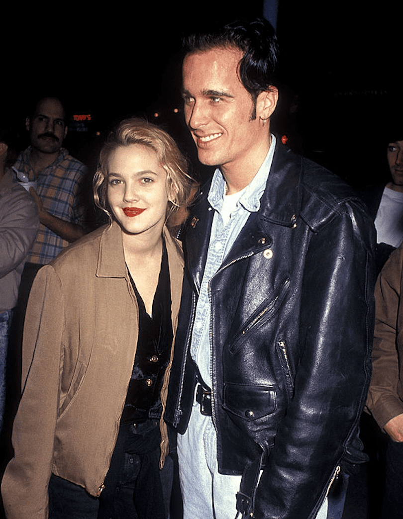 "Image Source: Getty Images/Ron Galella, Ltd./Actress Drew Barrymore and date Leland Hayward attend the ""Sleeping with the Enemy"" Westwood Premiere on February 4, 1991 at Mann Village Theatre in Westwood, California"