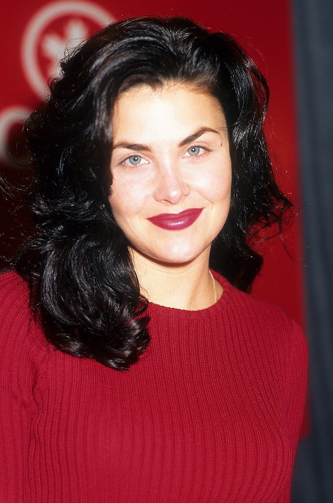 Image Source: Getty Images/Donaldson Collection | Actress Sherilyn Fenn poses for a portrait in circa 1992 in Los Angeles, California