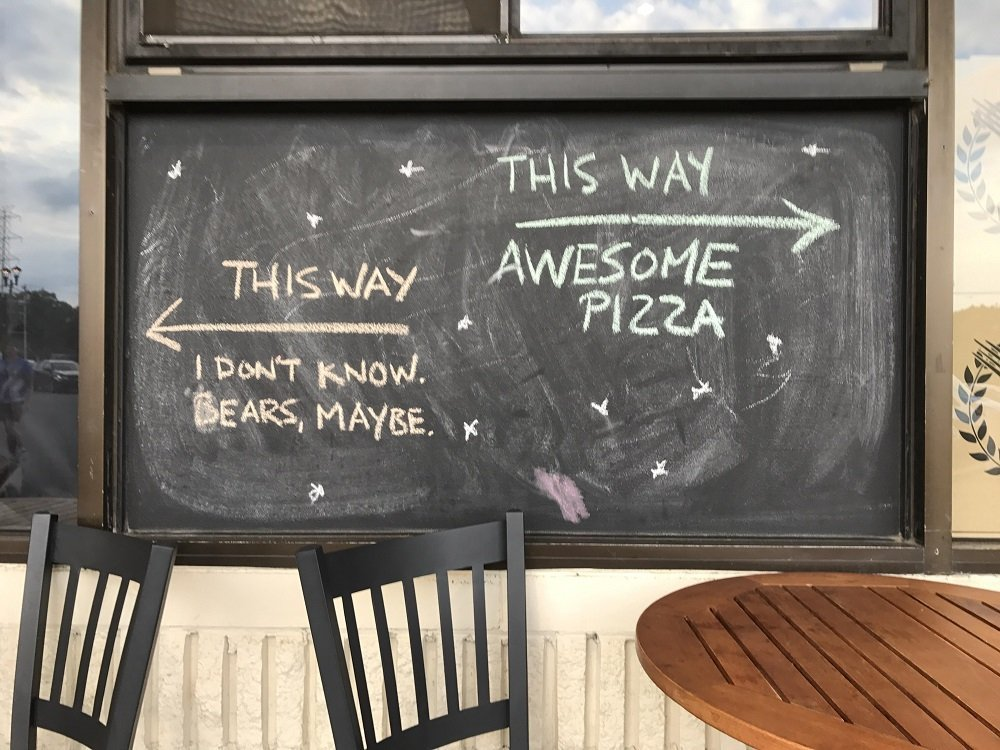Funny Restaurant Signs