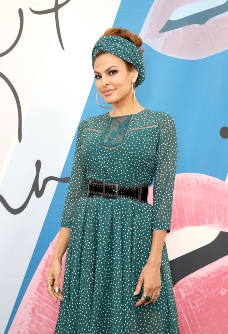 Image Credit: Getty Images / Eva Mendes on the red carpet.