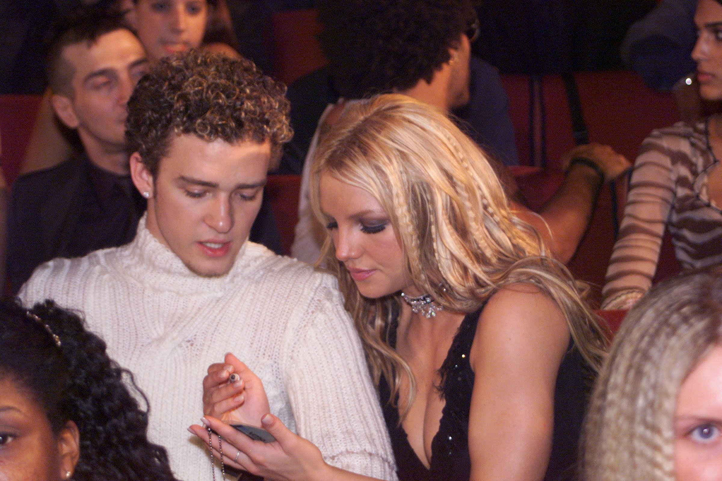 Image Source: Getty Images/Dave Hogan | Timberlake and Spears at the 2000 MTV Music Awards