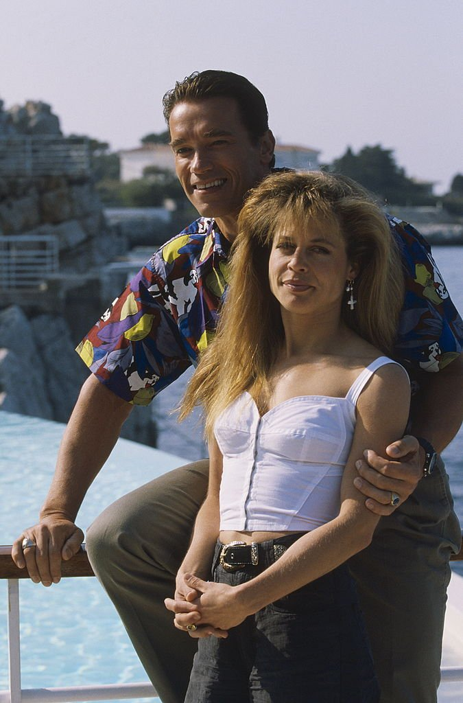Image Credits: Getty Images / Jean-Claude Deutsch / Jacques Lange / Paris Match | 44th Cannes Film Festival 1991: Linda Hamilton and Arnold Schwarzenegger.