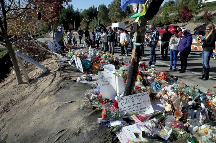 Image Credit: Getty Images / A memorial for Paul Walker.