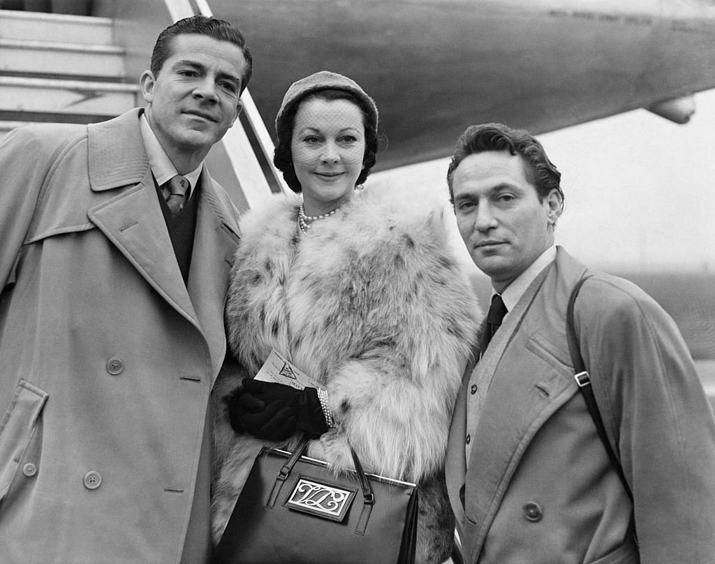 Image Credits: Getty Images / Hulton-Deutsch Collection/CORBIS | Dana Andrews, Vivien Leigh and Peter Finch