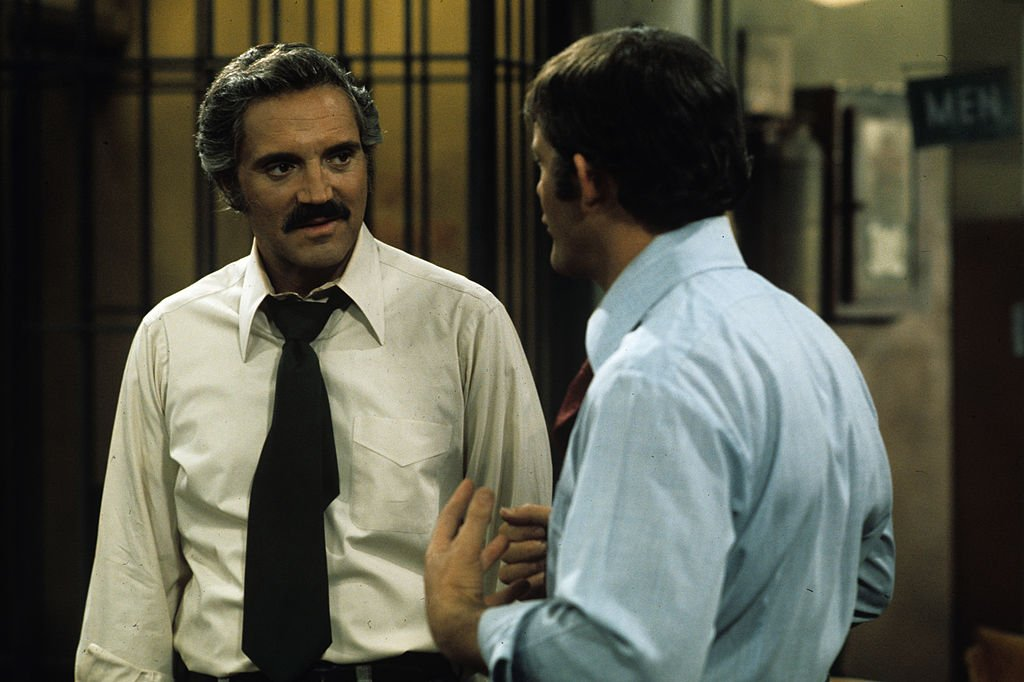 Image Credit: Getty Images / Hal Linden on set for Barney Miller.