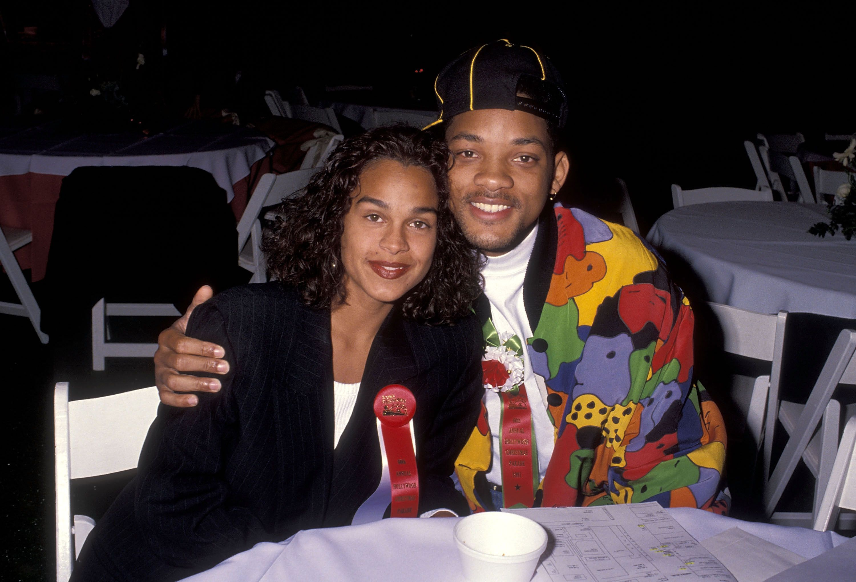 Actor Will Smith and girlfriend Sheree Zampino attend the 60th Annual Hollywood Christmas Parade / Getty Images