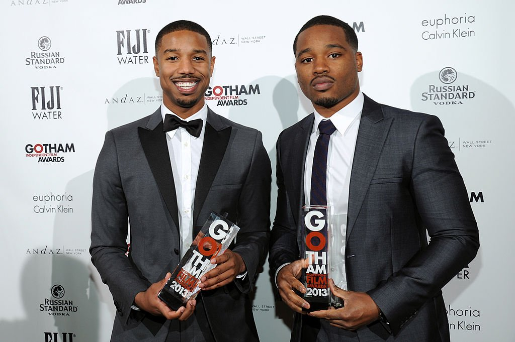 Image Credits: Getty Images / Bryan Bedder | Actor Michael B. Jordan and director Ryan Coogler attend the 2013 Gotham Independent Film Awards Sponsored by FIJI Water on December 2, 2013 in New York City.