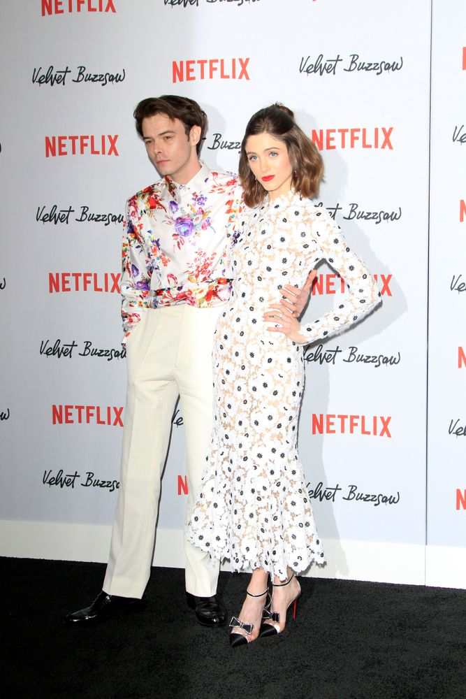 Charlie Heaton, Natalia Dyer attending the Velvet Buzzsaw Los Angeles Premiere Screening at the Egyptian Theater/Photo:Shutterstock