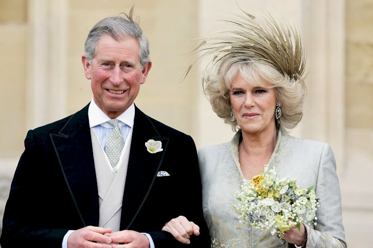 Image Credit: Getty Images / Prince Charles and the Duchess of Cornwall on their wedding day.