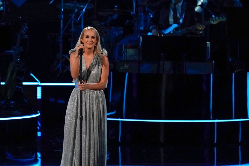 Image Credit: Getty Images / Carrie Underwood at The 42nd Annual Kennedy Center Honors.
