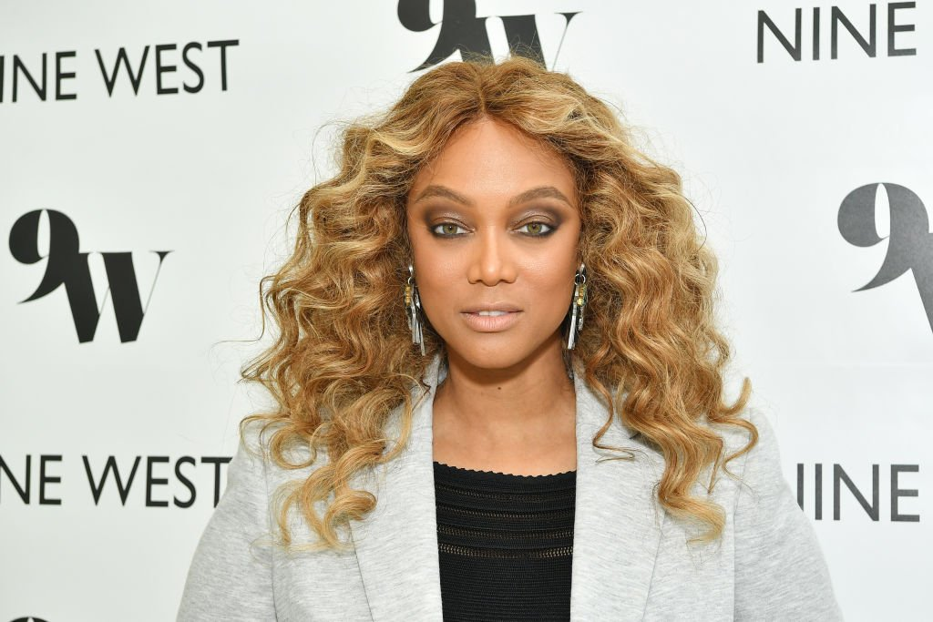 Image Credit: Getty Images / Tyra Banks hosts Nine West New campaign launch event in celebration of International Women's Day at ABG West Style Studio on March 05, 2020.