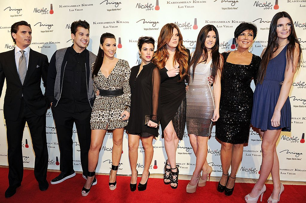 Image Credit: Getty Images / The Kardashians and Jenners arrive at the grand opening of Kardashian Khaos at The Mirage Hotel and Casino on December 15, 2011 in Las Vegas, Nevada.