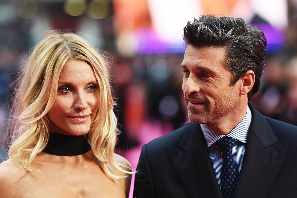 Image Source: Getty Images/Dave J Hogan | Dempsey and Fink at the Bridget Jones' Baby premier